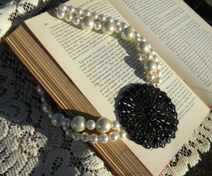 accessory, etsy, and pearl necklace image