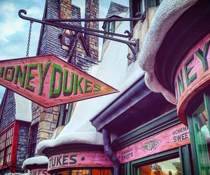 Candy Store, desserts, and harry potter image