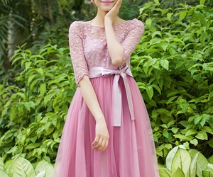 clothing, dress, and pink image