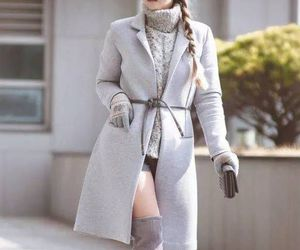 boots, overcoat, and shorts image