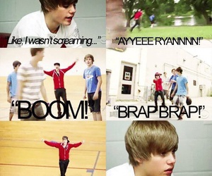 justin bieber, never say never, and funny image