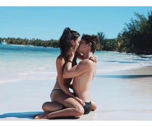 argentina, beach, and couple image