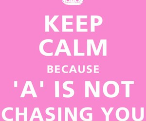 keep calm, pink, and white image