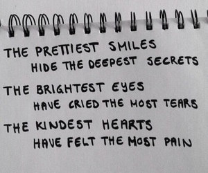 quotes, smile, and secret image
