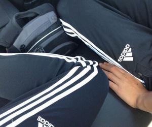 adidas, couple, and black image