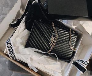 bag, black, and YSL image