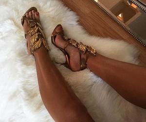 fashion, beautiful, and heels image