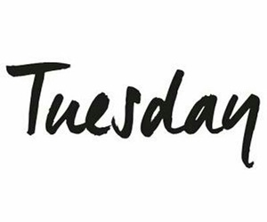 tuesday and love image