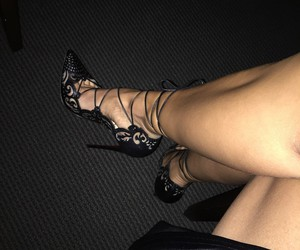 heels, shoes, and sexy image