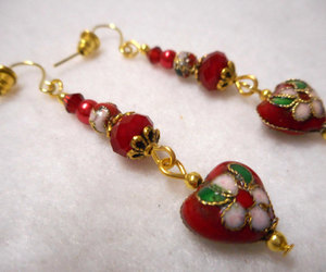 etsy, handmade earrings, and one of a kind image