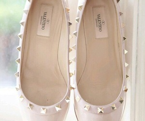 Valentino, fashion, and flats image