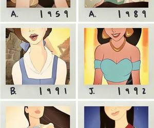 disney, princess, and made image