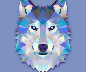 wolf, wallpaper, and art image
