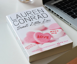 book, lauren conrad, and pink image