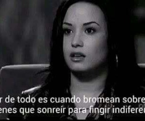 frases, demi lovato, and físico image