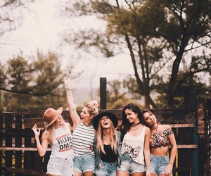 friends, girl, and happy image