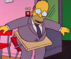 the simpsons and homer image