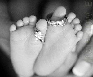 baby, love, and rings image