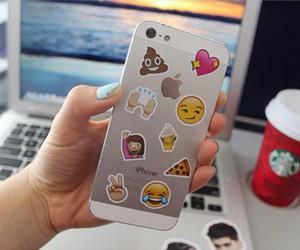 iphone, tumblr, and emoji image