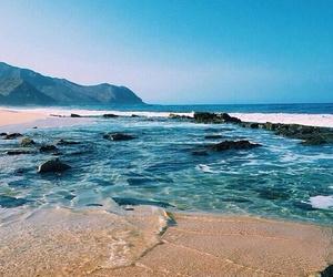 agua, arena, and lugares image
