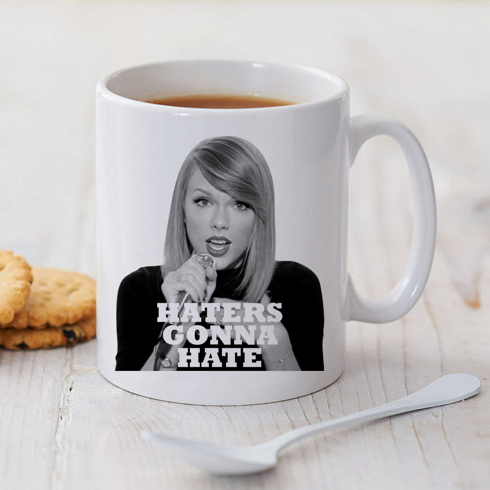 Taylor Swift Haters Gonna Hare Coffee Mug Glassware