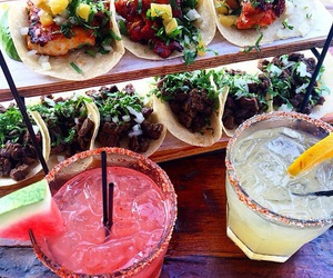 drinks, exotic, and food image