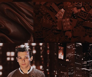 wallpaper, louis tomlinson, and one direction image