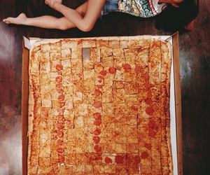 pizza, shay mitchell, and pretty little liars image