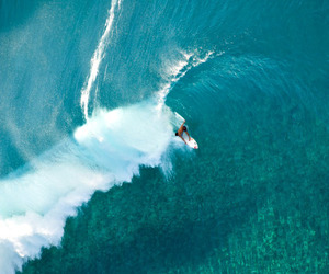 summer, beach, and surfing image
