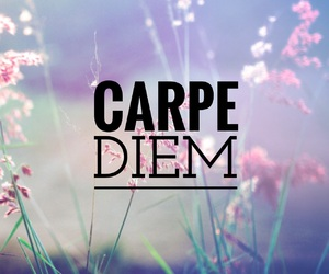 carpe diem and quote image