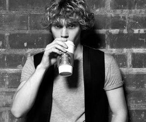 evan peters, ahs, and american horror story image