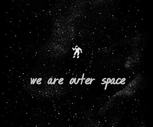dark, mystery, and space image