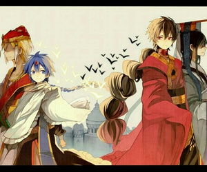 magi, judal, and aladdin image