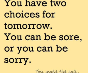fitness, sore, and sorry image