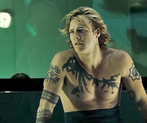 tattoo, point break, and luke bracey image