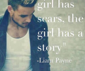 liam payne, one direction, and scars image