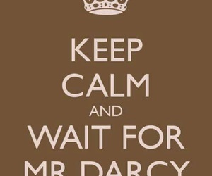 mr darcy and love image