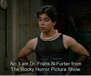 rocky horror picture show, that70sshow, and dr.franknfurter image