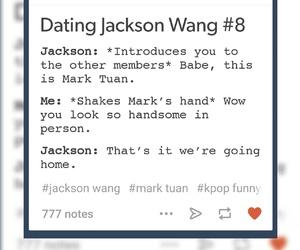 jackson, kpop, and mark image
