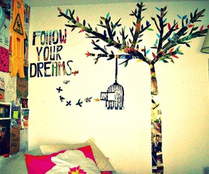 Dream, follow, and room image