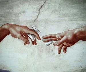 hands, lol, and money image