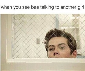 funny, dylan o'brien, and bae image