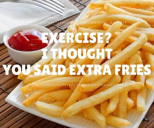 delicious, easel, and exercise image