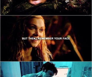bellarke, the 100, and love image