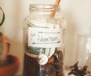 adventure, money, and travel image