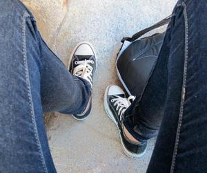 chucks, converse, and legs image