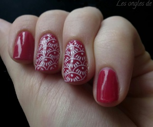 nail art, manucure, and stamping image