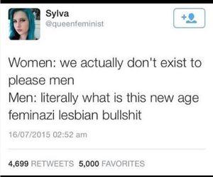 feminism, dickhead, and feminist image