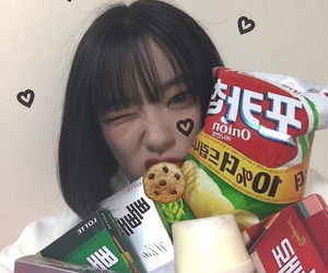 asian, ulzzang, and food image