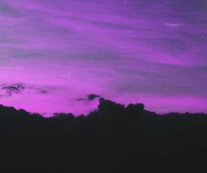Dream, purple, and sky image